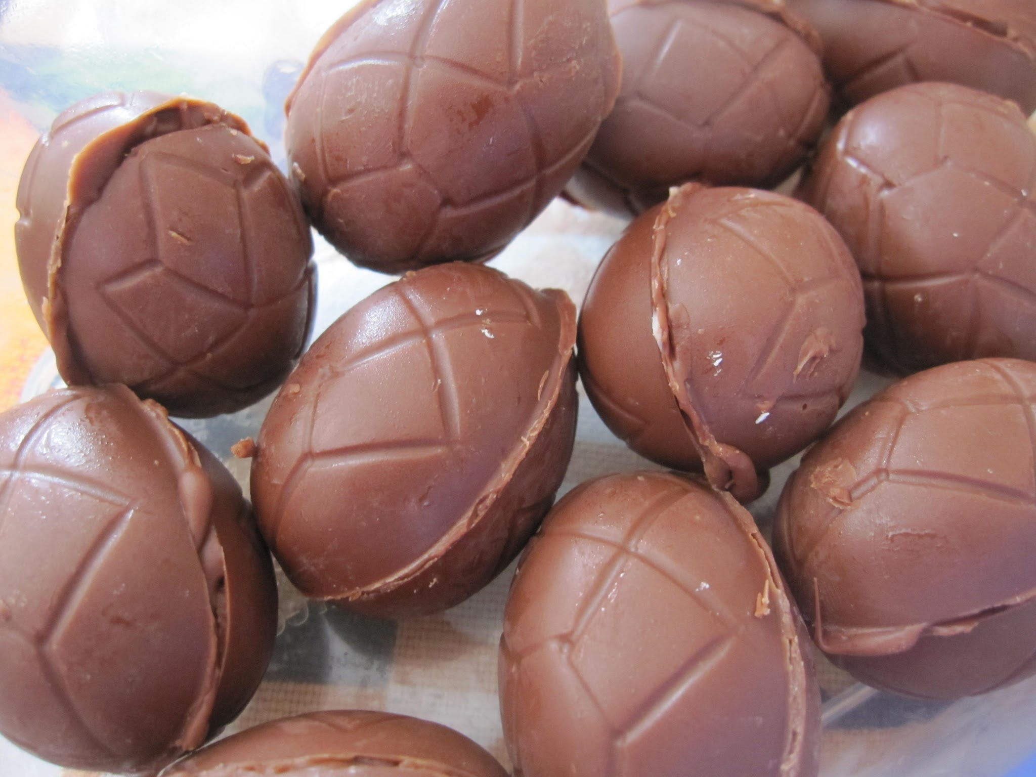 Home Made Creme Eggs
