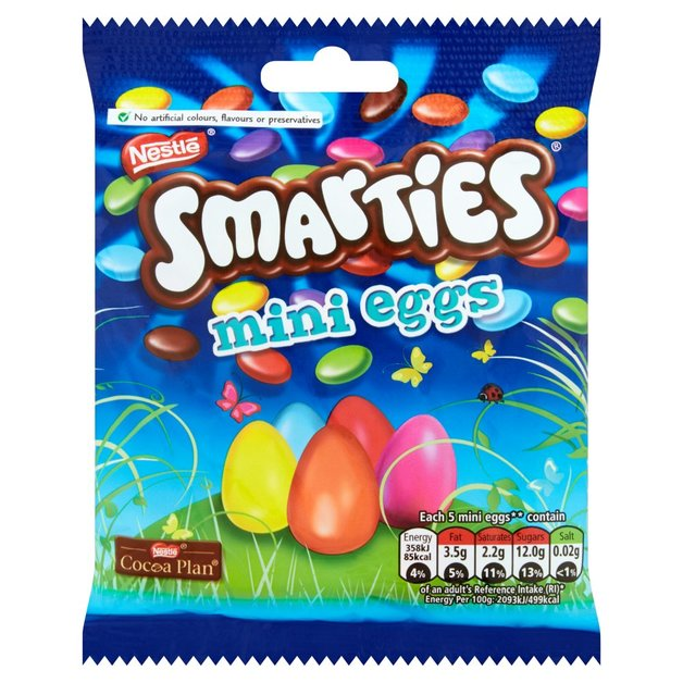 Smarties Mini Egg Bag