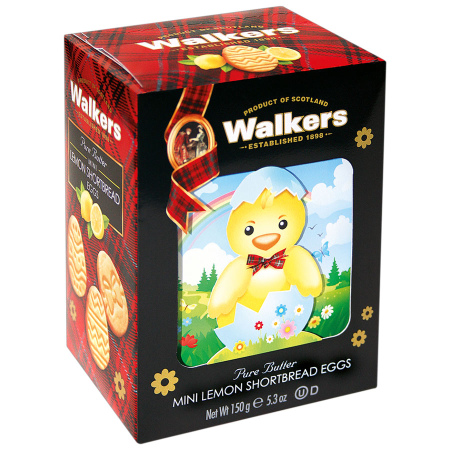 Walkers Shortbread Box