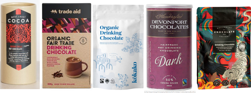 hot chocolate mixes as discussed below